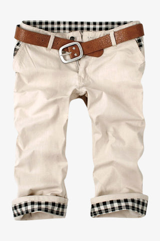 Men's Shorts In Beige