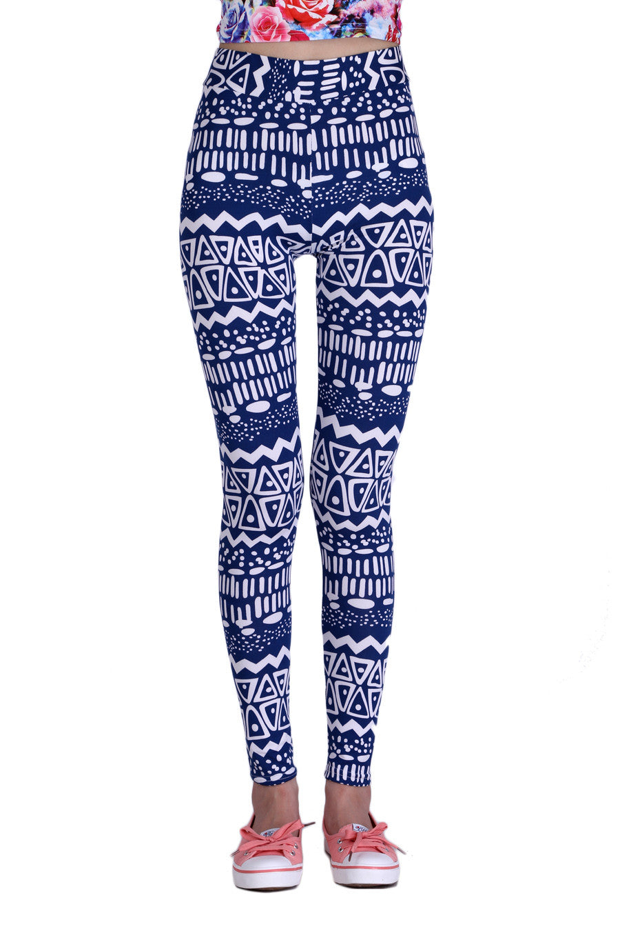 Vintage Blue Leggings
