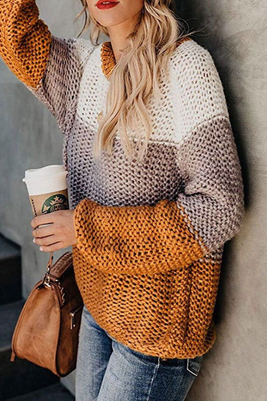 '90s Knitted Chunky Sweater
