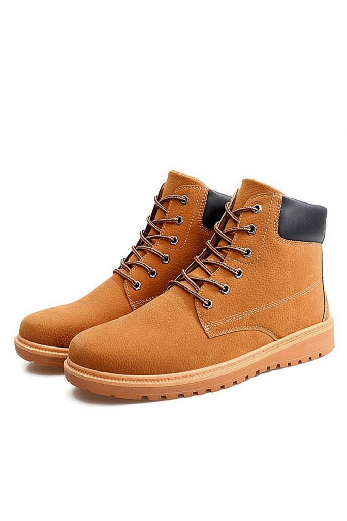 Urban Lace-Up Winter Boots