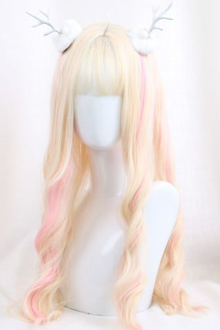 Gradient Long Curly Cosplay Wig