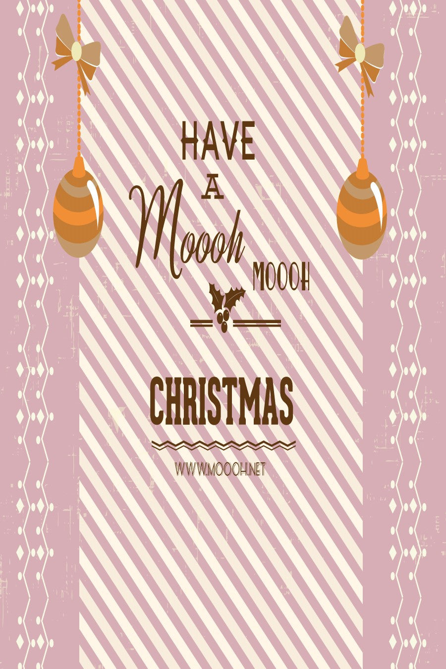 Have a Moooh!! Christmas Gift Card
