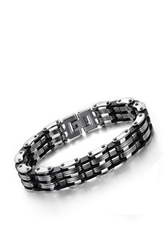Multi Layer Stainless Steel Men's Bracelet