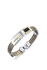 Cross Stainless Steel Men's Bracelet