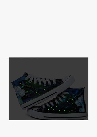 Hand Painted Galaxy Sneakers