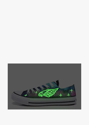 Feather Glow In The Dark Sneakers