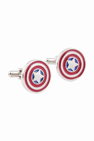 Captain American Cufflinks