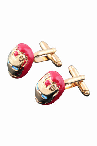 Ironman Cufflinks For Men