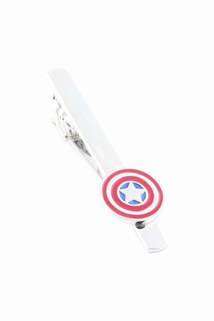 Captain American Men's Tie Clip