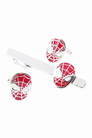Spider Man Tie Clip In Red