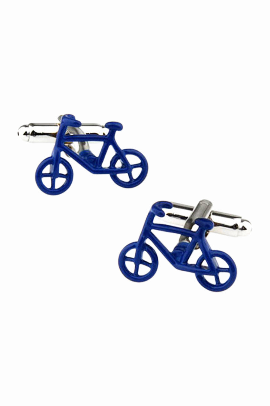 Bicycle Men's Cufflinks In Blue