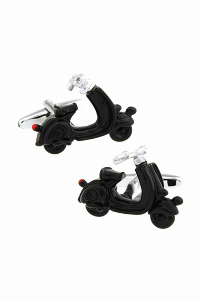 Scooter Moped Men's Cufflinks