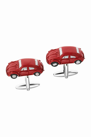 Fashion Car Men's Cufflinks In Red