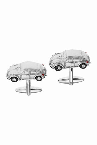 Fashion Car Men's Cufflinks In Silver