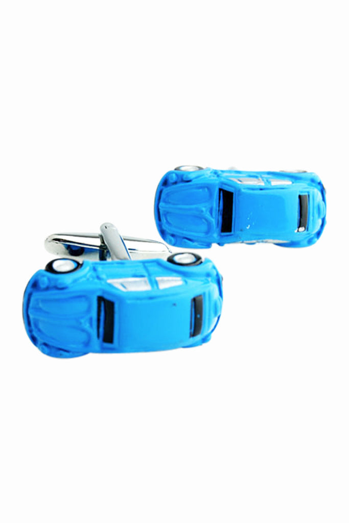 Fashion Car Men's Cufflinks In Blue