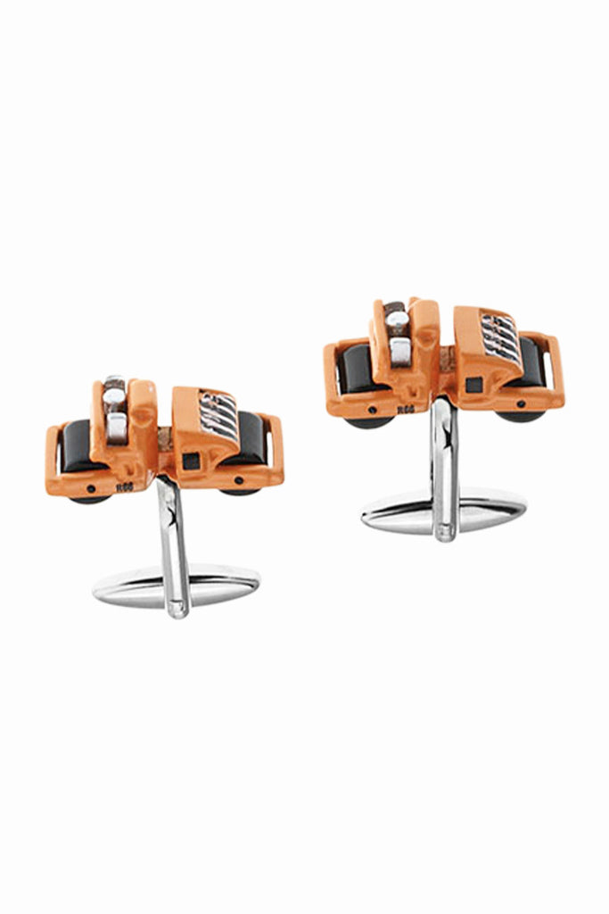 Road Roller Men Gift Cufflinks