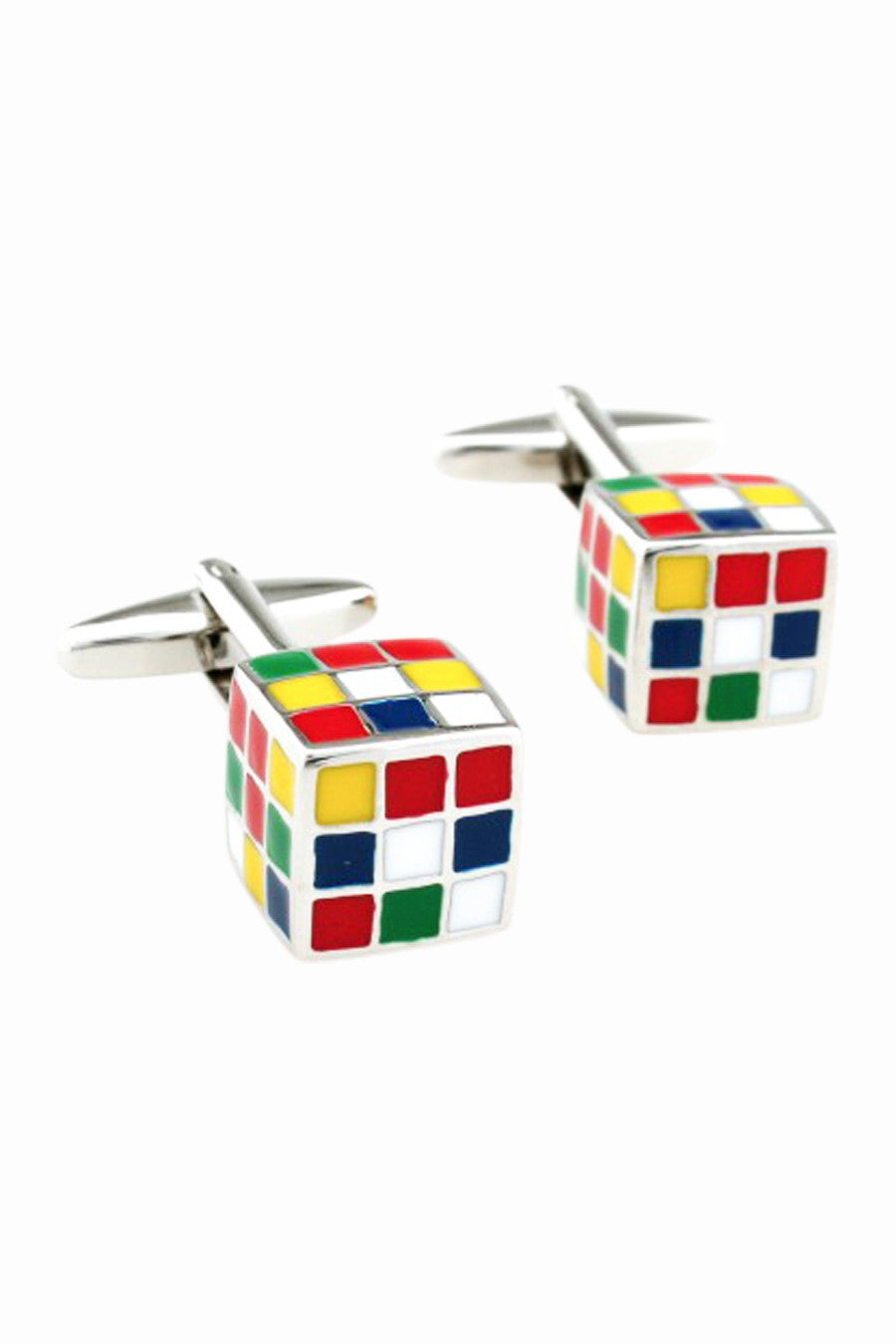 Cube Men's Dress Shirt Cufflinks