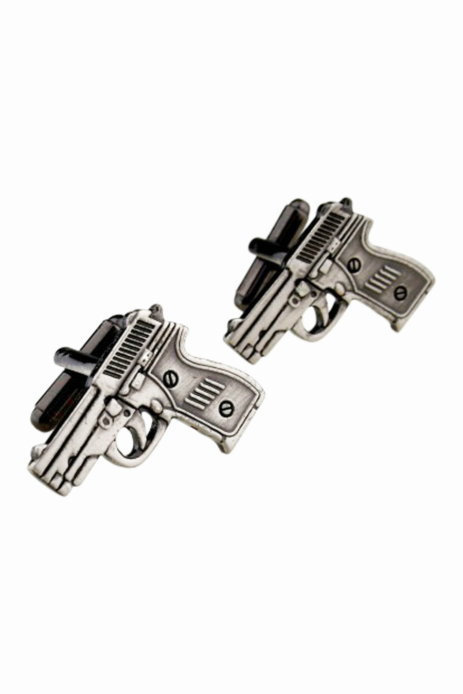 Men's Retro Gun Design Cufflinks