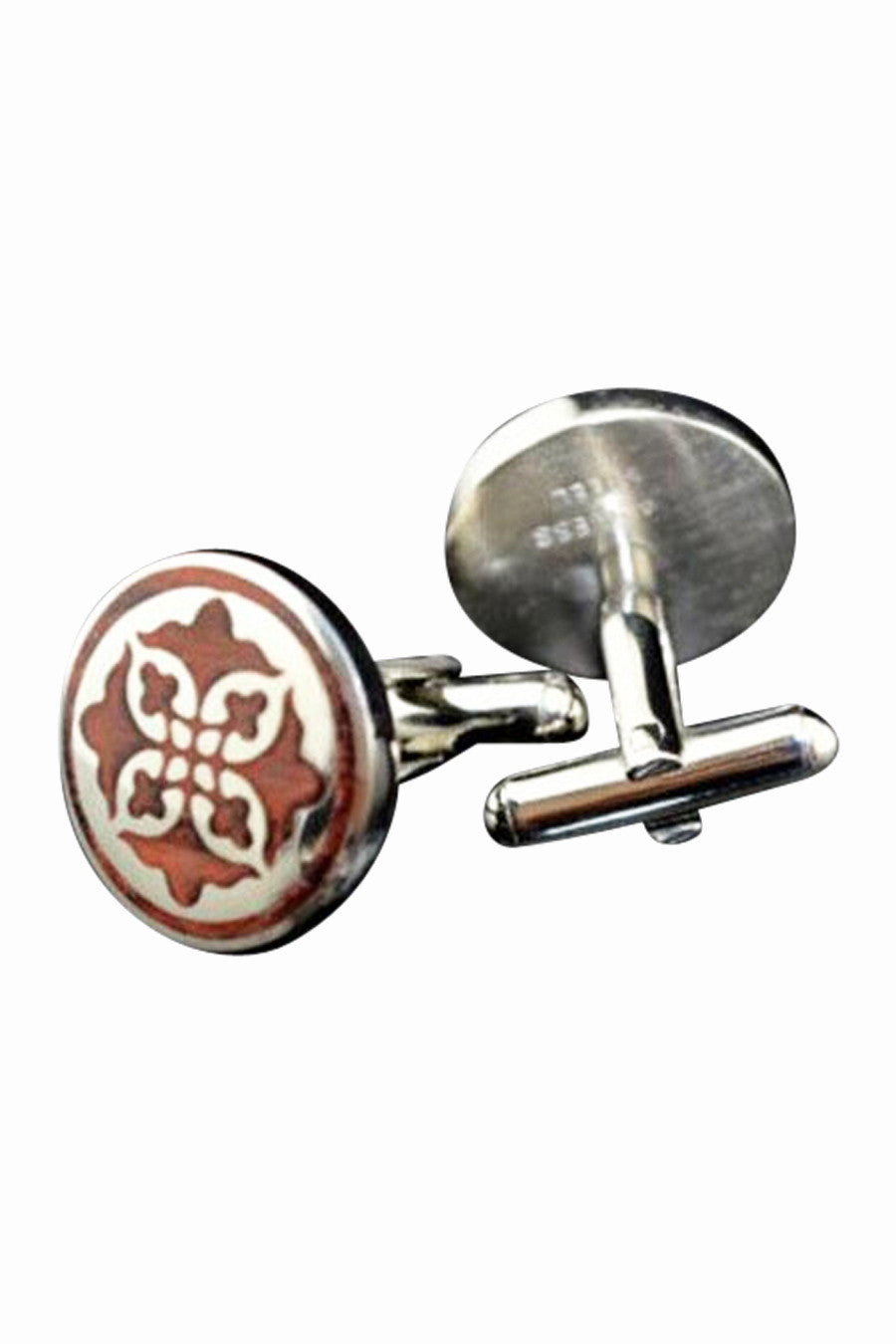Retro Rosewood Men's Cufflinks
