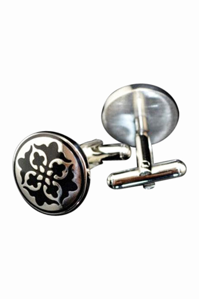 Decorative Cufflinks In Black