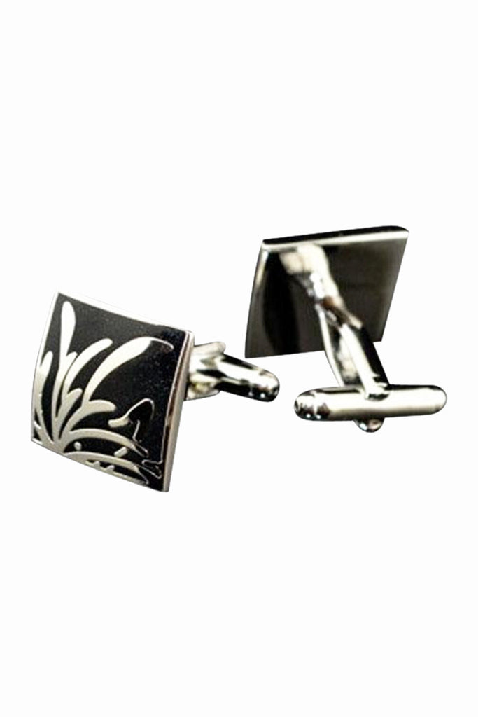 The Quartet Dianthera Shirt Decorative Cufflinks In Black