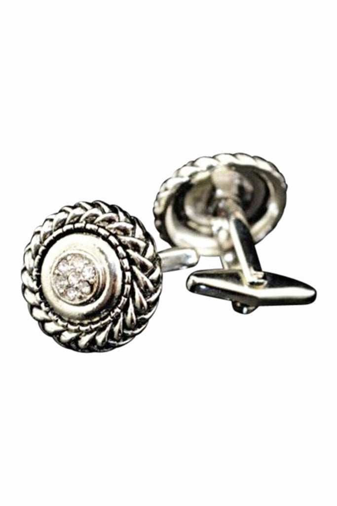 Roman Ancient Silver Cufflinks