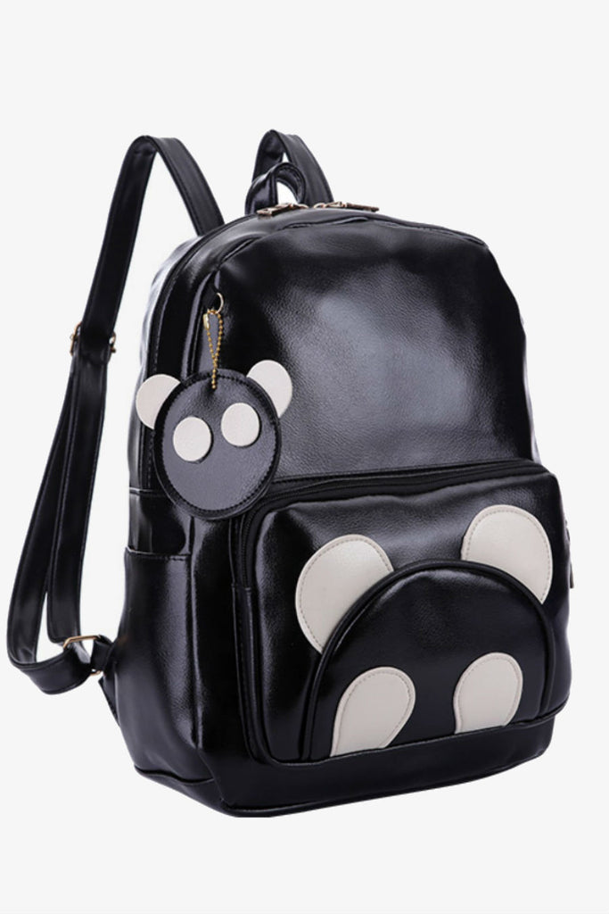 Cute Black Bear Backpack