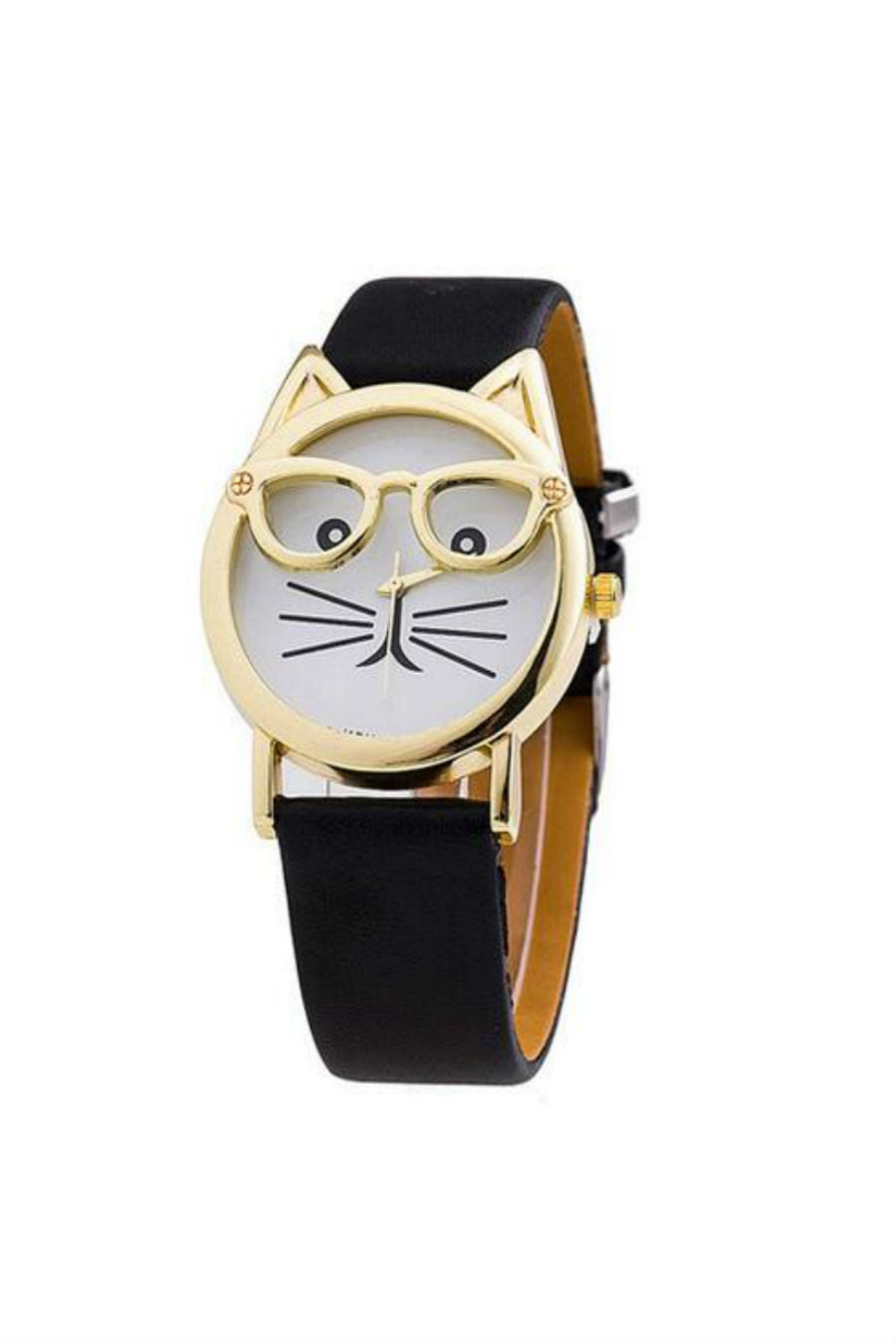 Cat Black Strap Watch