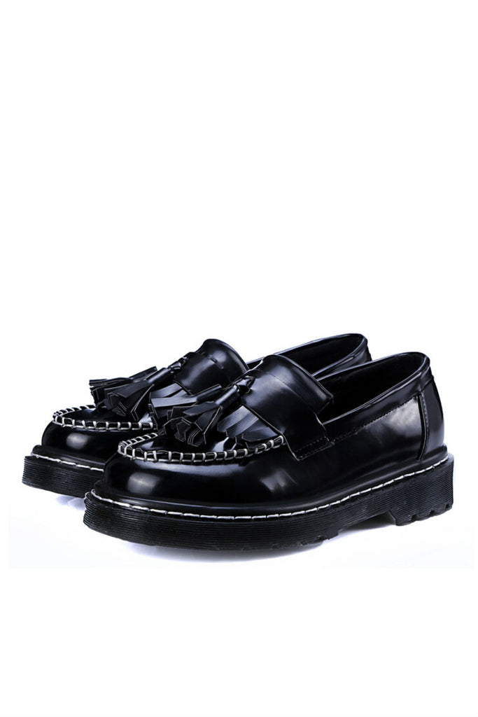 Black Patent Leather Loafer