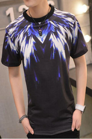 Wings Graphic Printed Short Sleeve T-shirt