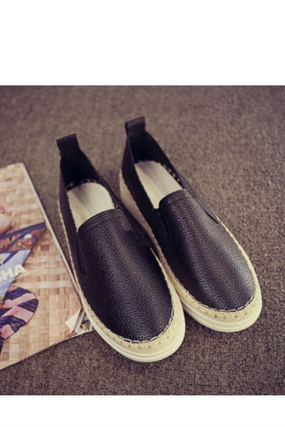 Black Women's Casual Loafers
