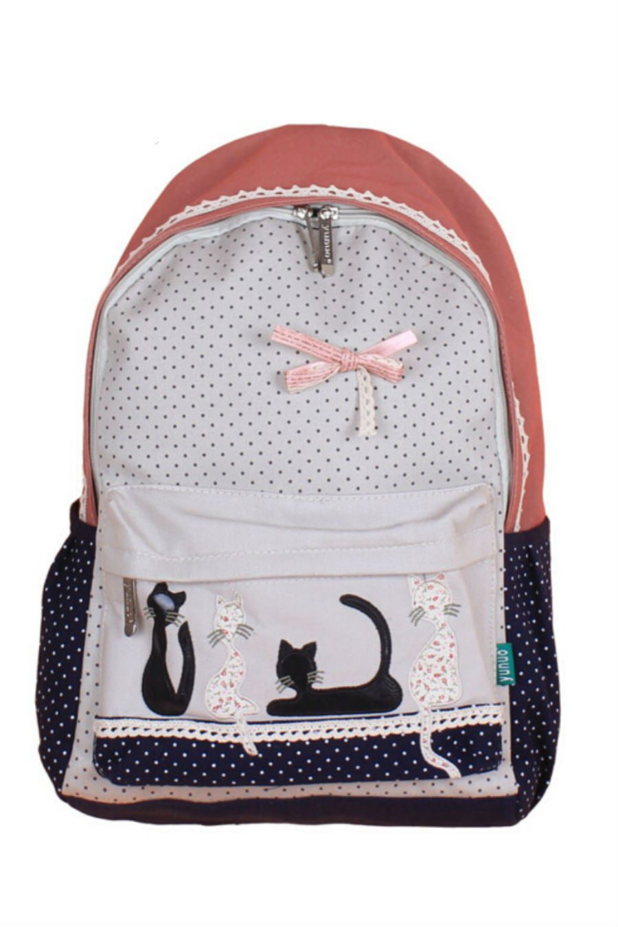 Vintage Lace Canvas Backpack