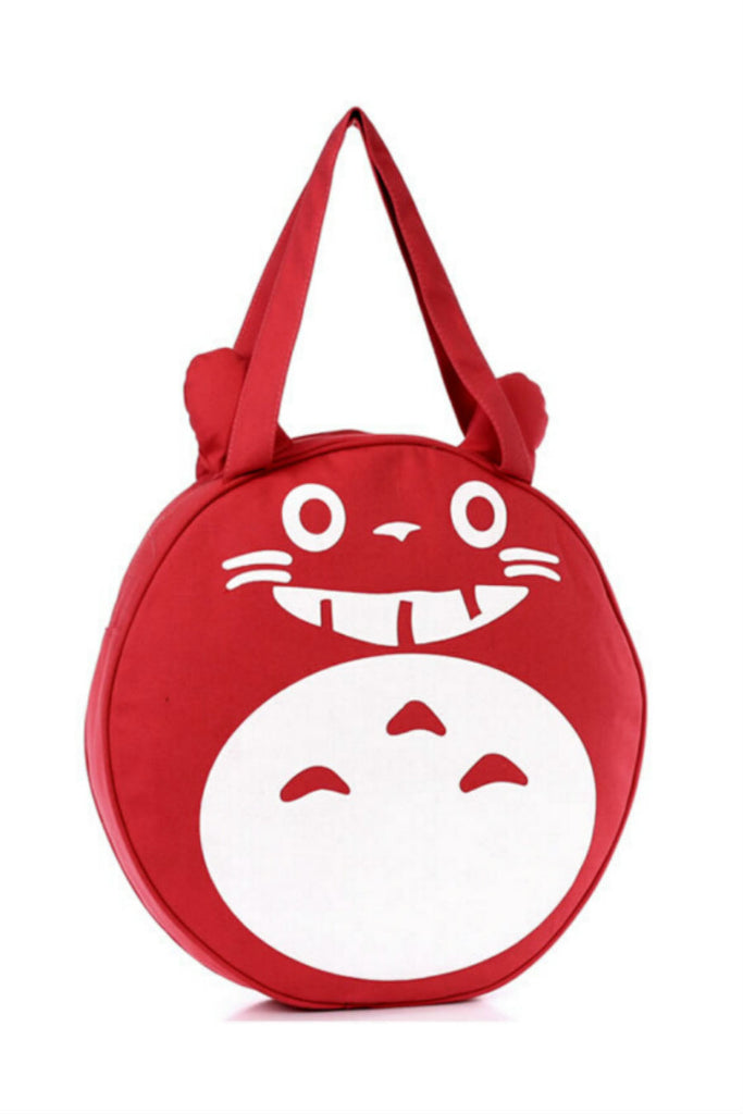 Cute Red Totoro Shoulder Bag