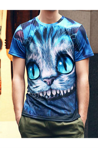 Cheshire Cat Printed T-shirt