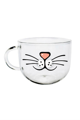 Funny Cartoon Cat Mug