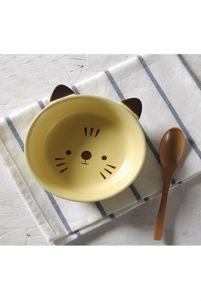 Cute Cat Ceramic Meal Bowl