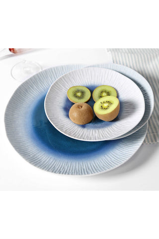 Galaxy Blue Fruit Plate Dish