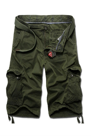 Casual Cargo Army Shorts