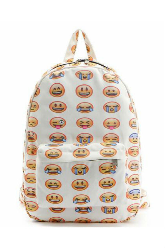 Emoji Canvas Backpack