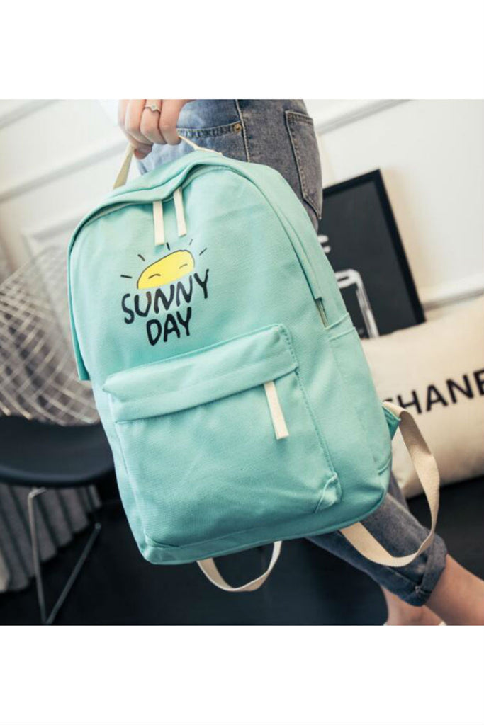Sunny Day Canvas Backpack