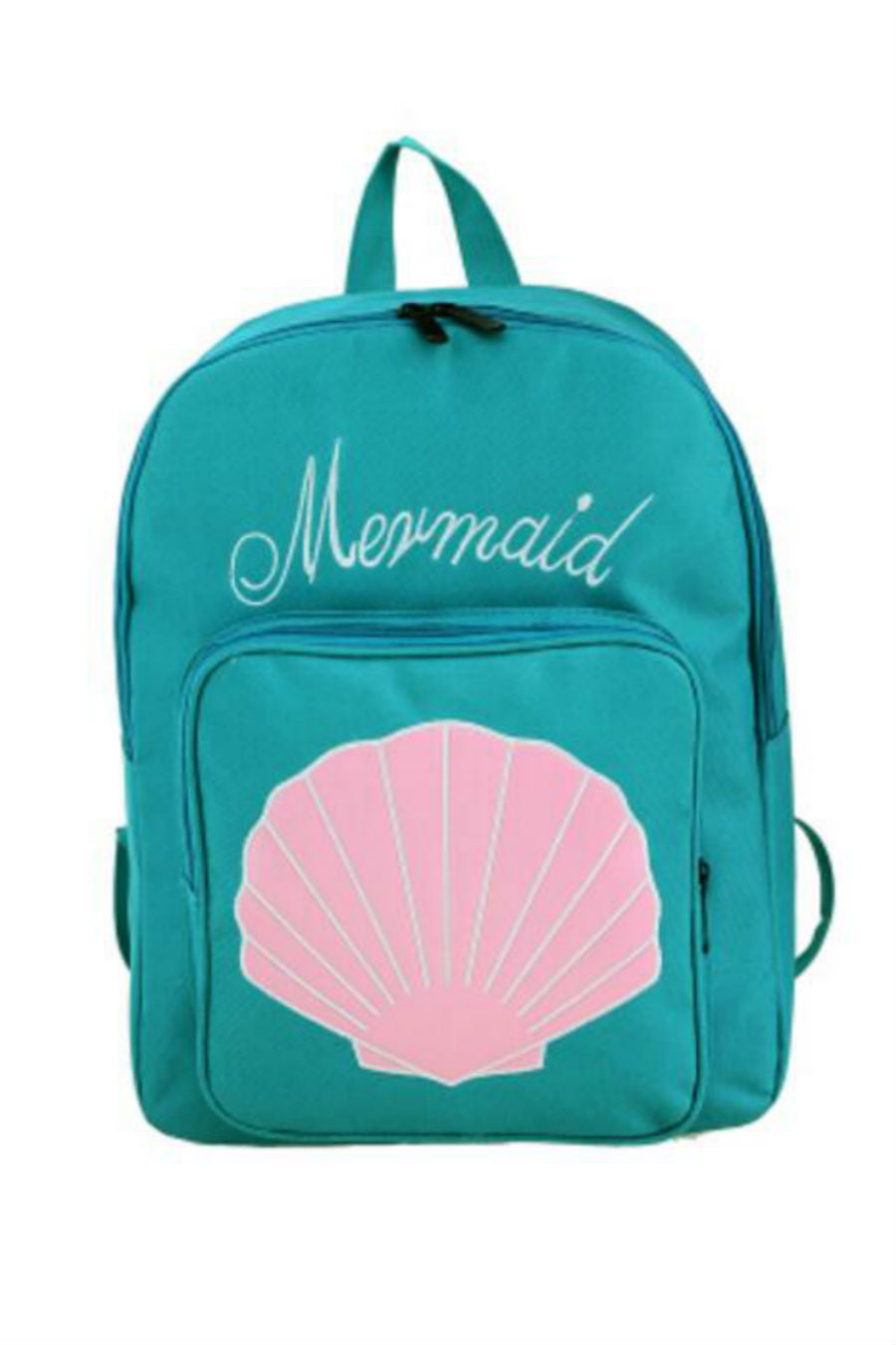 Mermaid Sea Shell Blue Backpack