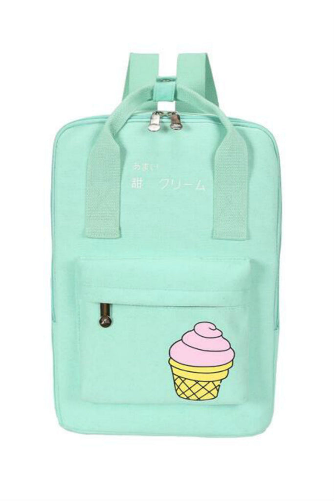 Harajuku Mint Ice Cream Backpack