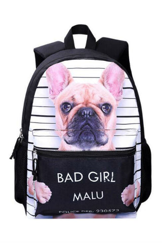 Harajuku Bad Dog Backpack