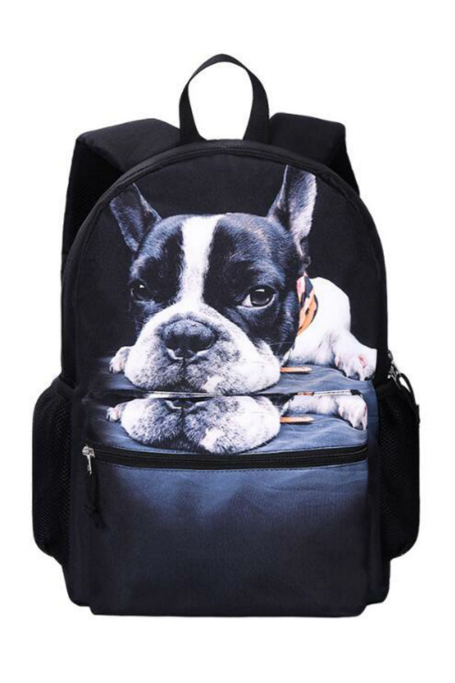 Harajuku 3D Lonely Dog Backpack