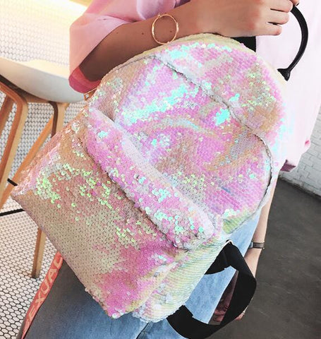 Fashion Sequins Backpack