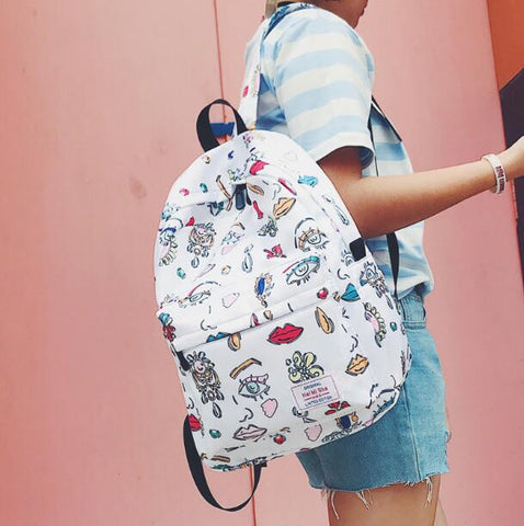 Graphic Prints Backpack