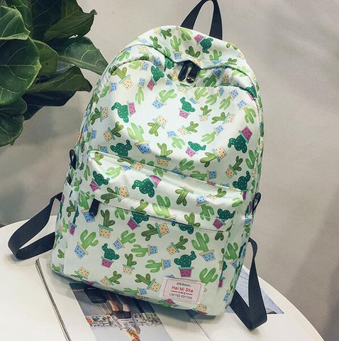 Cactus Prints Backpack