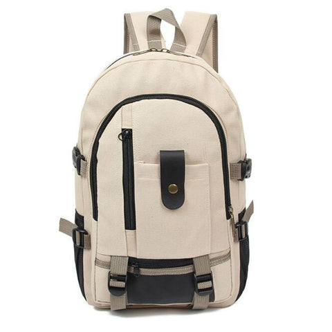 Travel Outdoor Canvas Backpack