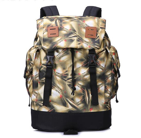 Large Capacity Backpack In Grey