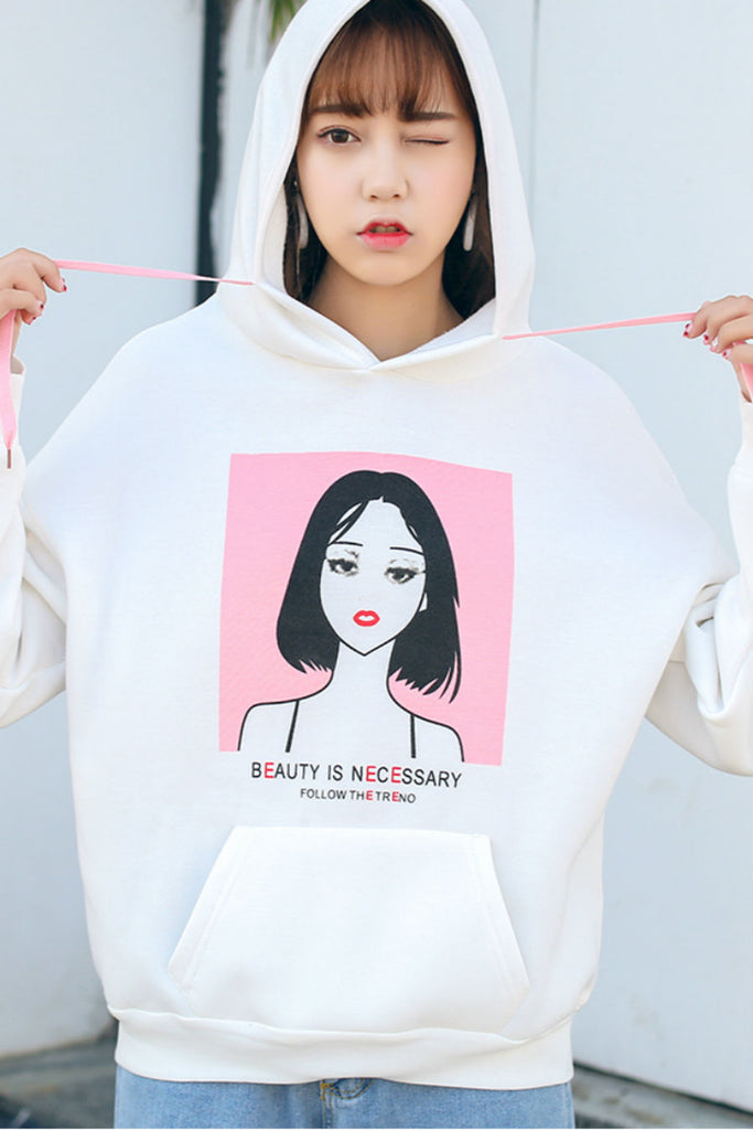 Beauty Is Necessary Hoodie 😍